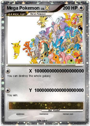 Pokemon Mega Pokemon