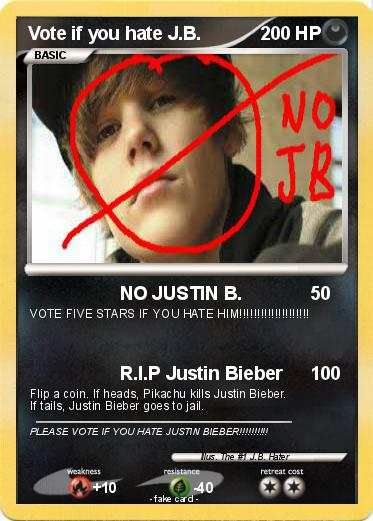 Pokemon Vote if you hate J.B.