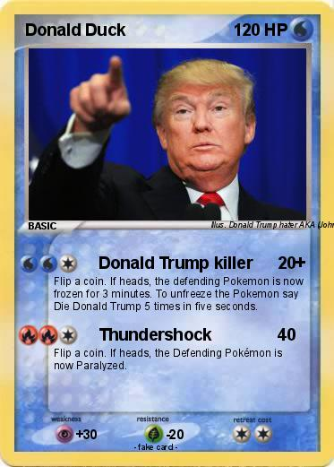 Pokemon Donald Duck