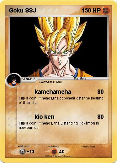 Pokemon Goku SSJ
