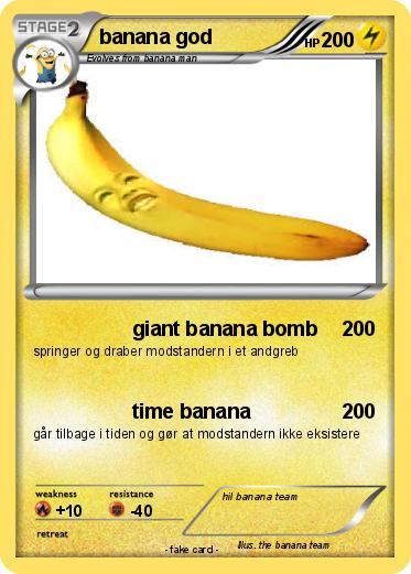 Pokemon banana god