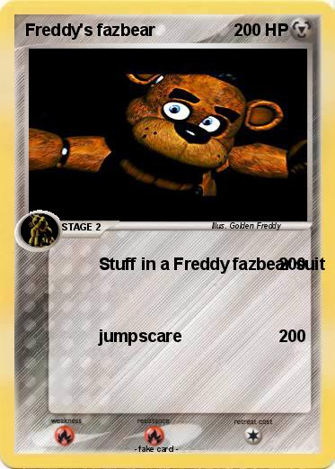 Pokemon Freddy's fazbear