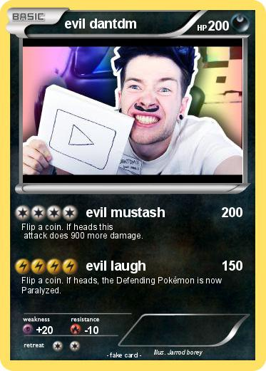 Pokemon evil dantdm