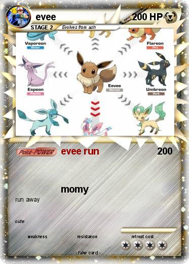 Pokemon evee