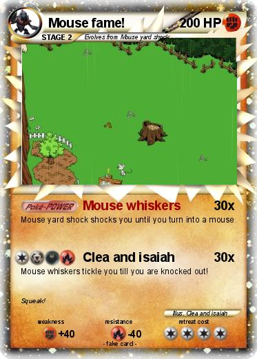 Pokemon Mouse fame!
