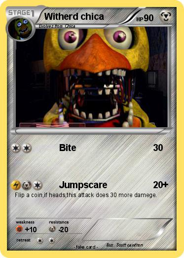 Pokemon Witherd chica