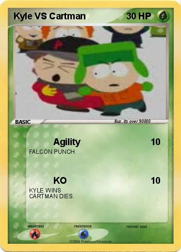Pokemon Kyle VS Cartman