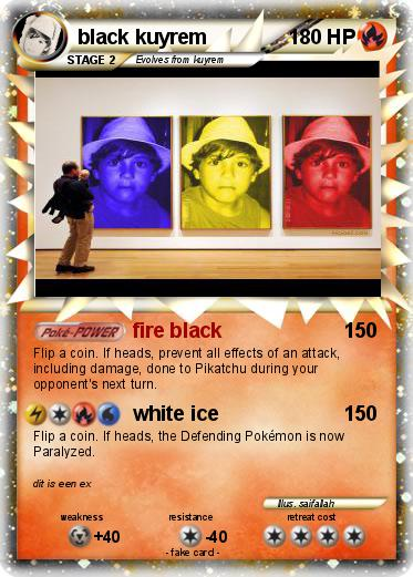 Pokemon black kuyrem
