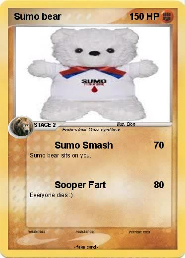 Pokemon Sumo bear