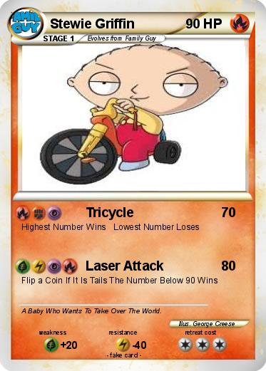 Pokemon Stewie Griffin