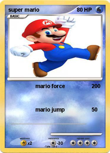 Pokemon super mario