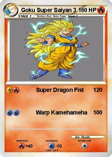 Pokemon Goku Super Saiyan 3