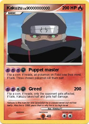 Pokemon Kakuzu