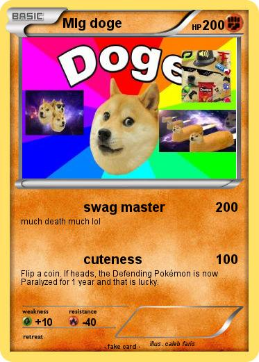 Pokemon Mlg doge