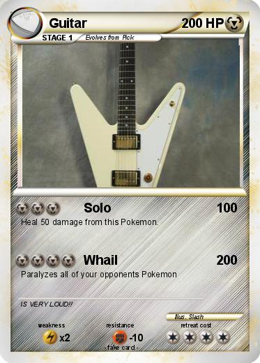 Pokemon Guitar