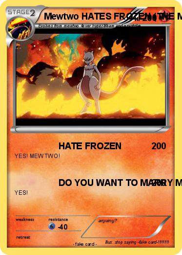Pokemon Mewtwo HATES FROZEN (THE MOVIE)