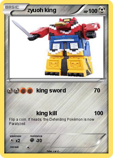Pokemon zyuoh king