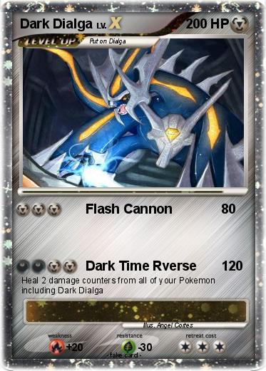 Pokemon Dark Dialga
