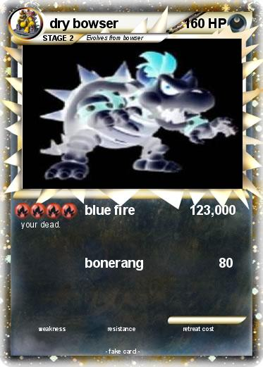 Pokemon dry bowser