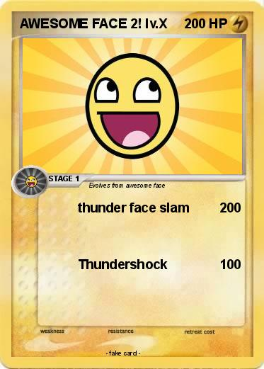 Pokemon AWESOME FACE 2! lv.X