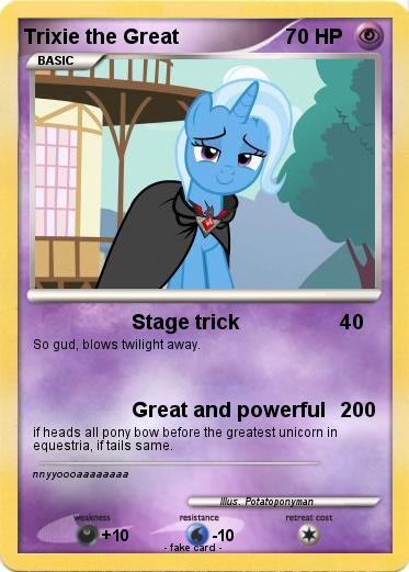 Pokemon Trixie the Great