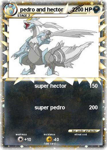 Pokemon pedro and hector      2