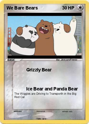 Pokemon We Bare Bears