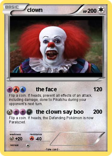 Pokemon clown