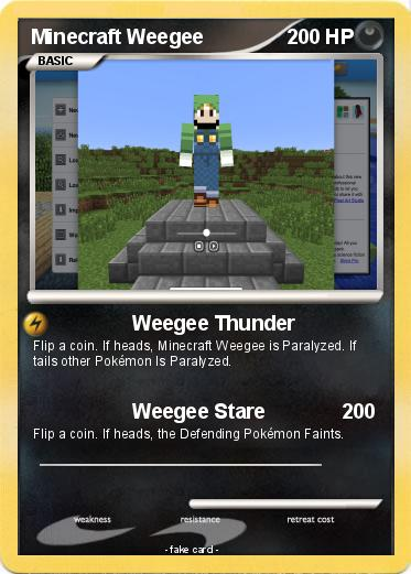 Pokemon Minecraft Weegee