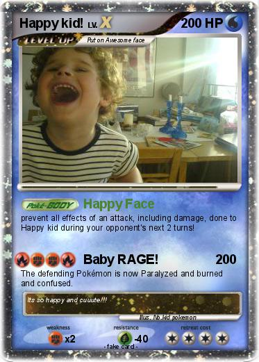 Pokemon Happy kid!