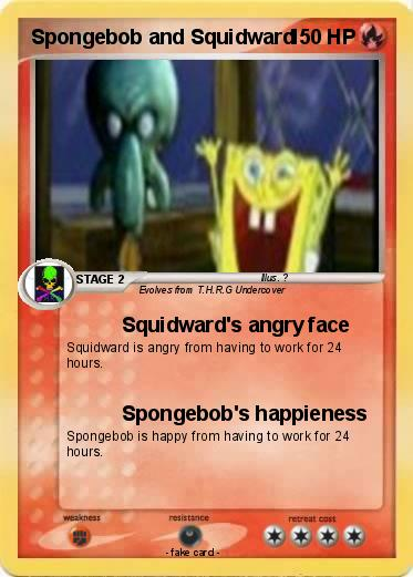 Pokemon Spongebob and Squidward