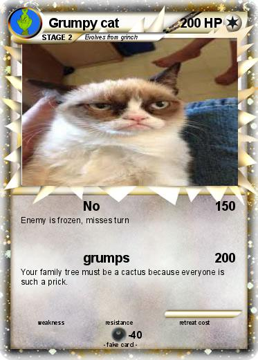 Pokemon Grumpy cat