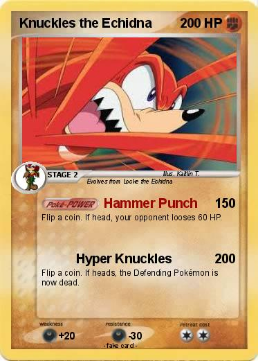 Pokemon Knuckles the Echidna