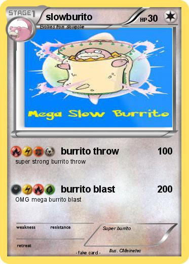 Pokemon slowburito