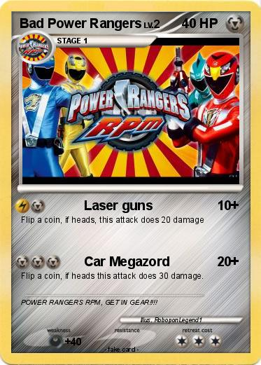 Pokemon Bad Power Rangers