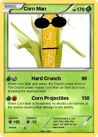 Pokemon Corn Man