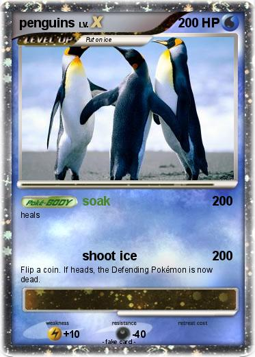 Pokemon penguins