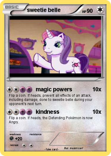 Pokemon sweetie belle