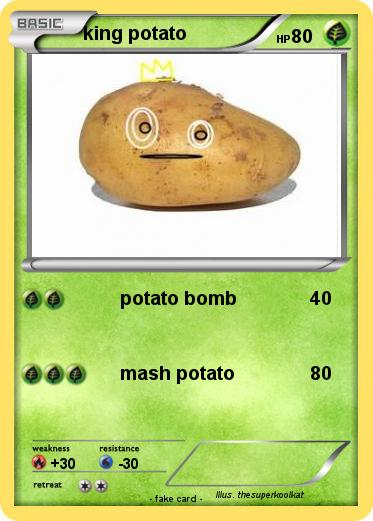 Pokemon king potato