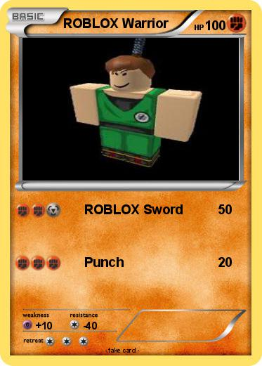 Pokemon ROBLOX Warrior