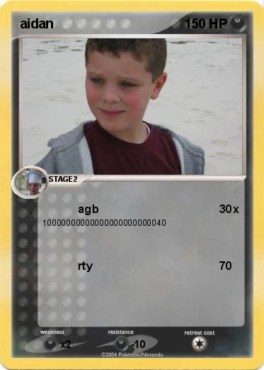 Pokemon aidan