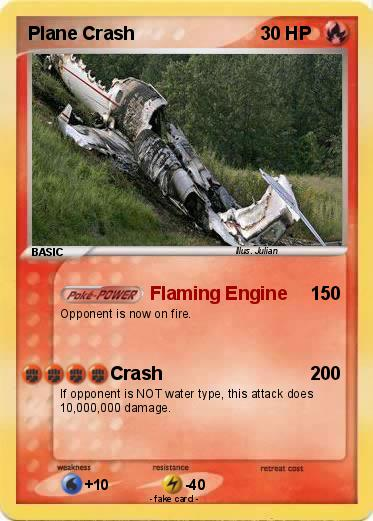 Pokemon Plane Crash