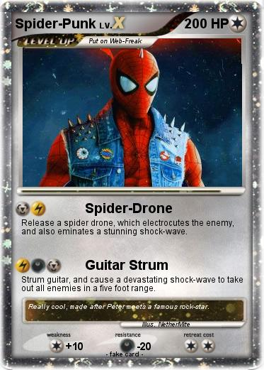 Pokemon Spider-Punk