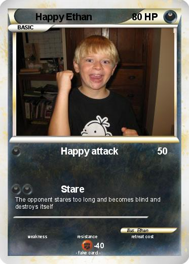 Pokemon Happy Ethan