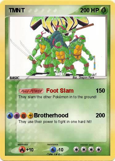Pokemon TMNT