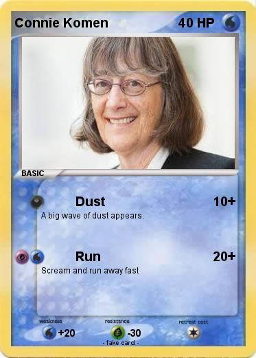 Pokemon Connie Komen