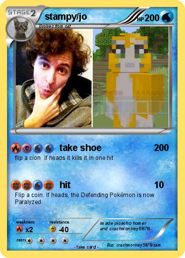 Pokemon stampy/jo