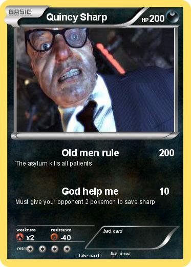 Pokemon Quincy Sharp