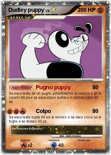Pokemon Dudley puppy