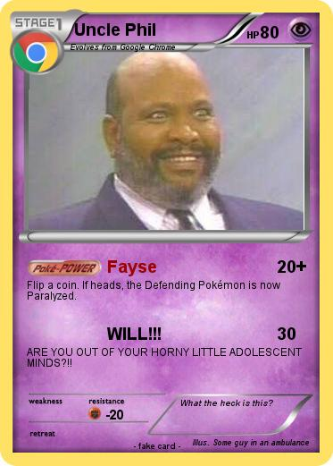 Pokemon Uncle Phil